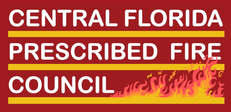 Central Florida Prescribed Fire Council Red Logo with Fire
